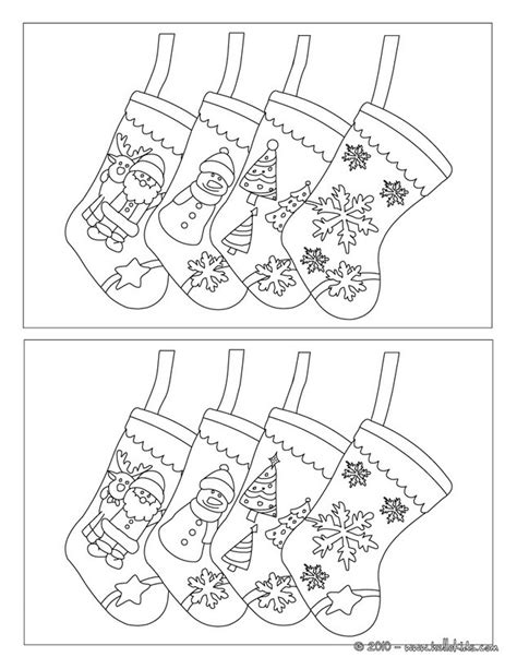 printable christmas find the difference games find the differences online games stocking hung by the