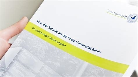 Hochschulstart Bewerbung Magazin Student Services Center Ssc Education Freie Universit 228 T Berlin