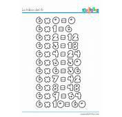 Tabla De Multiplicar Del 6 Ficha Educativa  Ejercicio
