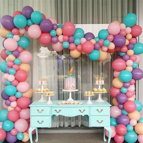 Balloon Rainbow Arch » Home Design 2017