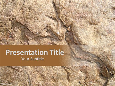 geology themes for powerpoint powerpoint templates rocks image collections powerpoint