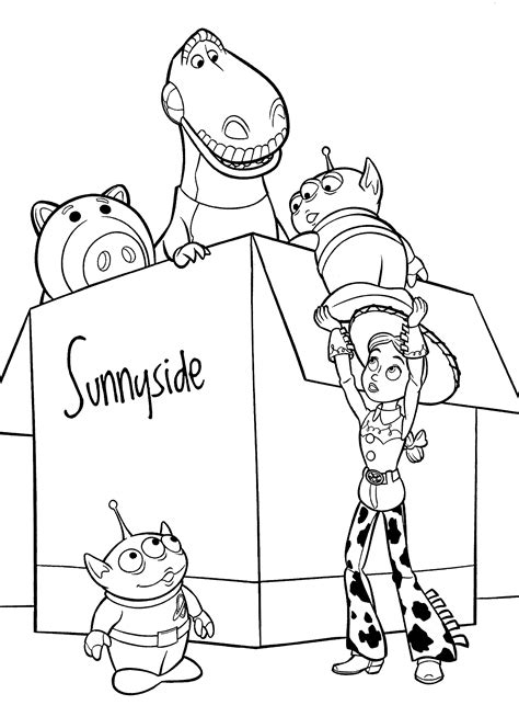 toy story coloring pages games toy story barbie printable coloring pages coloring home