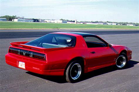 92 pontiac firebird 1990 92 pontiac firebird consumer guide auto