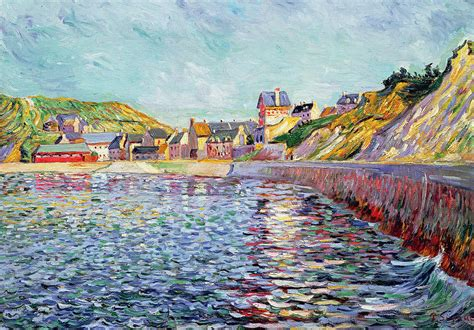 Online Home Plans by Calvados Painting By Paul Signac