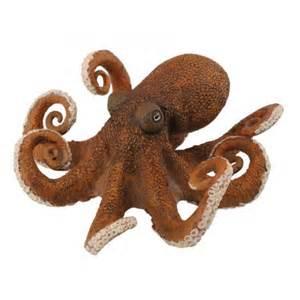 figurine en pvc d une pieuvre
