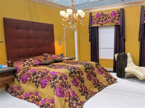 yellow and purple bedroom photo page hgtv