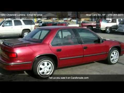 how to learn all about cars 1992 chevrolet camaro regenerative braking 1992 chevrolet lumina sedan for sale in radcliff ky 40160 youtube