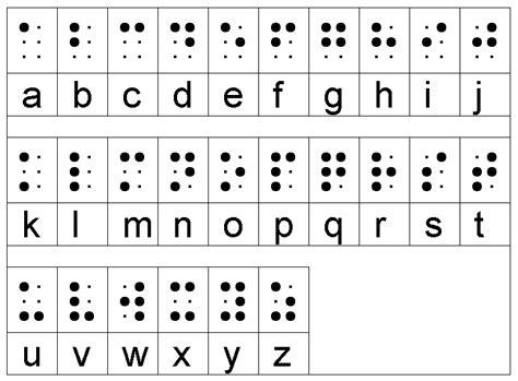 lettere braille scrittura la scrittura braille