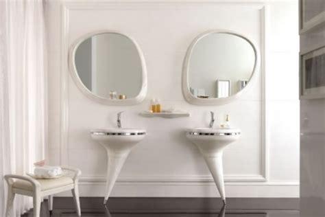 Bathroom Vanity Pedestal Pedestal Vanity Set To Make A Statement In A Bathroom Digsdigs