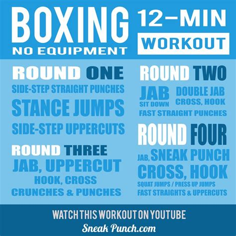 25 best ideas about boxing workout on
