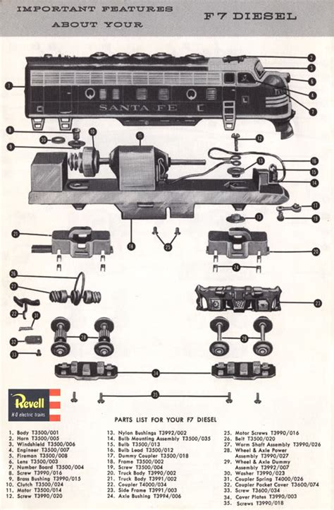 athearn parts diagrams truck gears diagram images