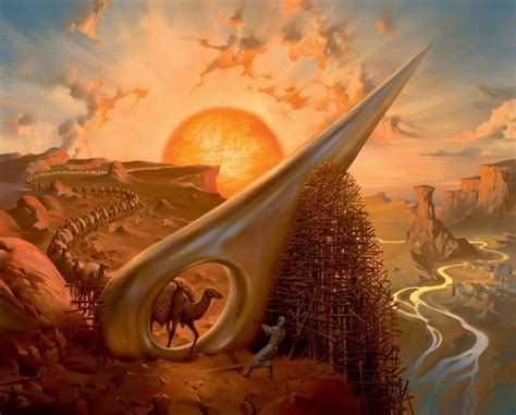 eye of the needle stumbling into the realm of vladimir kush always dreaming