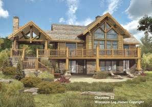 Log Cabin Home Plans Log Home Floor Plans By Wisconsin Log Homes Inc