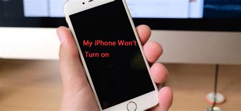 how to fix iphone won t turn on
