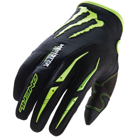 monster energy motocross gloves oneal ricky dietrich signature mx monster energy enduro