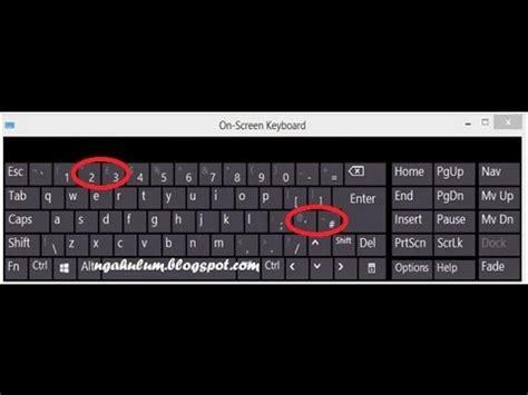 Tombol Keyboard Notebook Asus Cara Mengatasi Tombol Keyboard Berubah Fungsi Windows 8