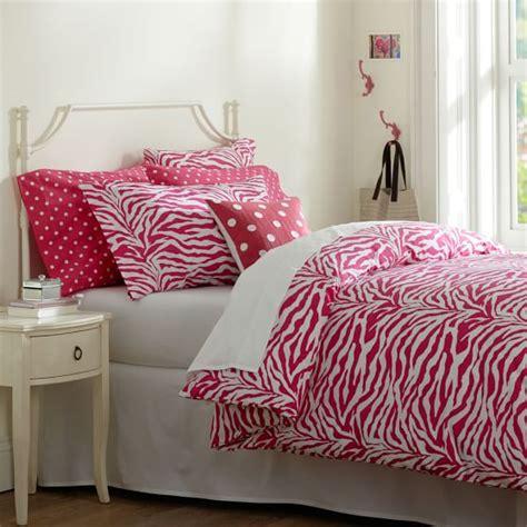Funky Duvet Covers Funky Zebra Organic Duvet Cover Pillowcases Pbteen
