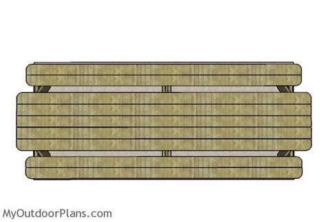 12 table top 12 picnic table plans myoutdoorplans free