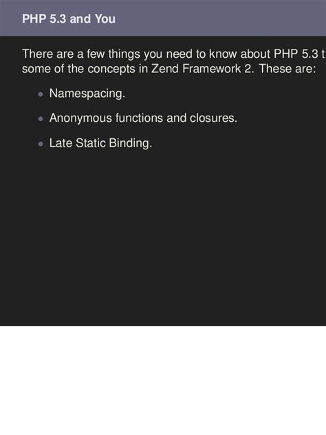 zf2 common layout zend framework 2 components