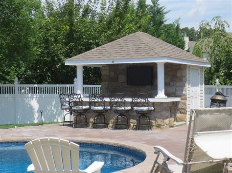 pool house with bar siesta poolside bar pleasant run structures