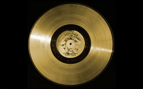 Www Records Nasa Jet Propulsion Laboratory Voyager Golden Record Inscription 1977