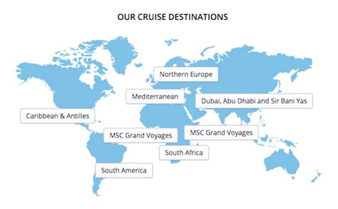 msc cruise around the world culinary travel on the high seas with msc cruises