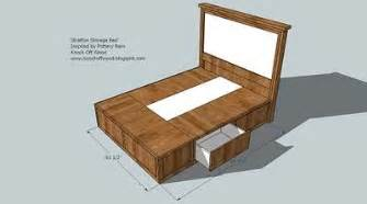 Platform Bed With Storage Plans Free Woodwork Size Storage Platform Bed Plans Pdf Plans