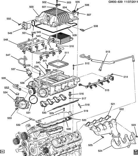 v8 engine diagram gm parts diagram gm free engine image for user