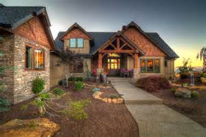 Log Homes Interior Designs by The Falcon Ridge Front Elevation 2 183 More Info