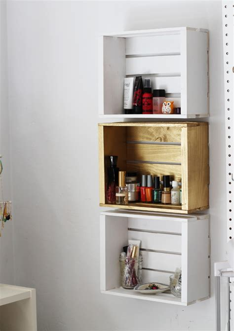 diy bathroom shelf 18 interesting and useful diy shelves for your home
