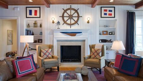 nautical themed living room nautical decor ideas from ship wheels to starfish