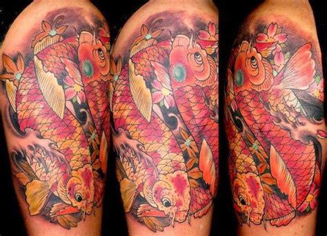 tattoo expo gettysburg sasha67 double koi color koi japanese maples cherry blossoms
