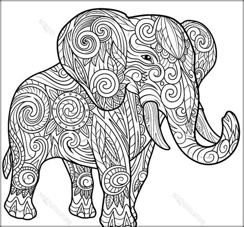 coloring pages abstract elephant elephant coloring pages coloringsuite com