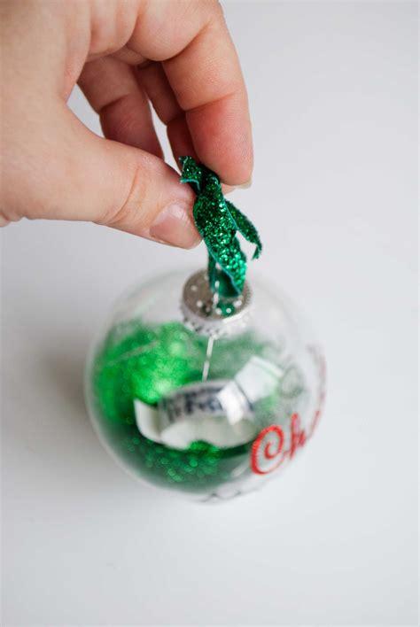 diy baby ornaments diy keepsake ornament for baby project nursery