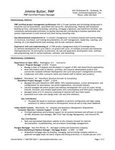 pmp verbiage for customer service resume template example
