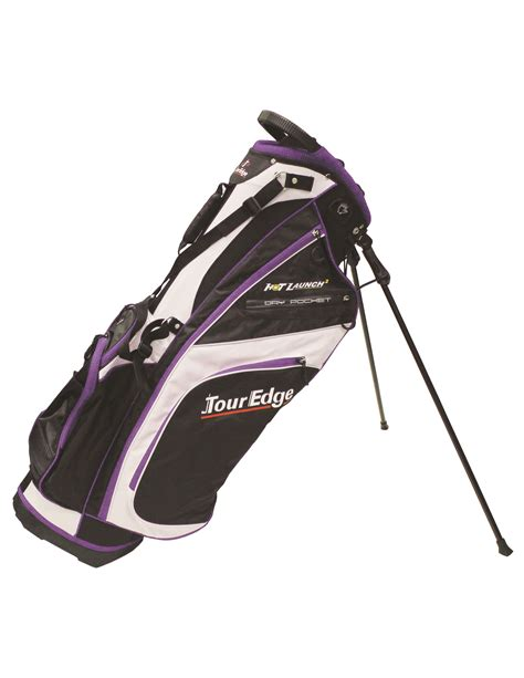 Ananndapers Standing Bag Purple new tour edge golf launch 2 stand bag black