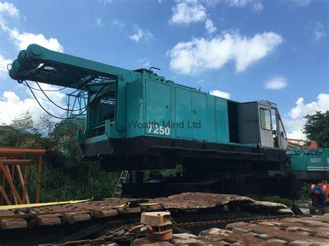 kobelco 7250 crawler crane hong kong trading company
