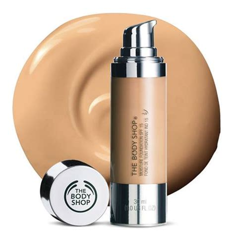 Bodyshop Foundation listing out ten best foundation for skin available in