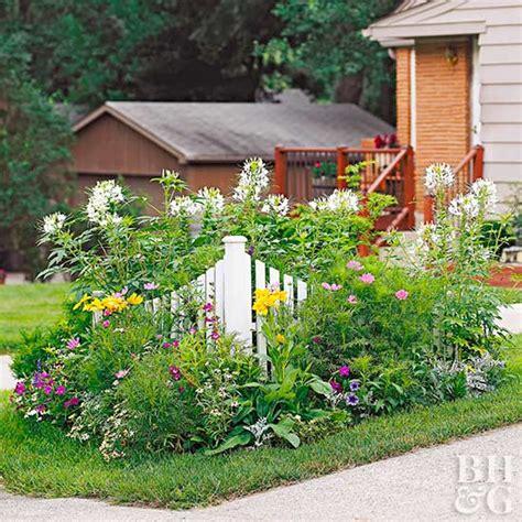 Corner Garden by Tiny Corner Garden Plan