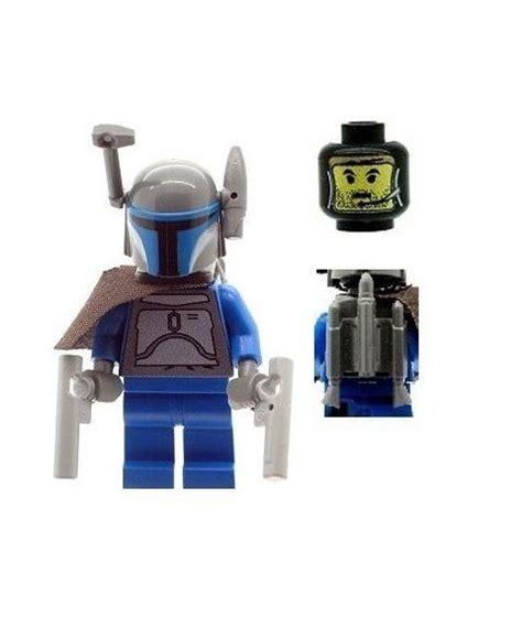 Genuine Lego Clone Wars Jango Fett Minifig Deluxe Version Jet wars jango fett custom designed minifigure