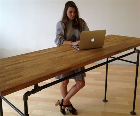 steel pipe standing desk custom listing for ari