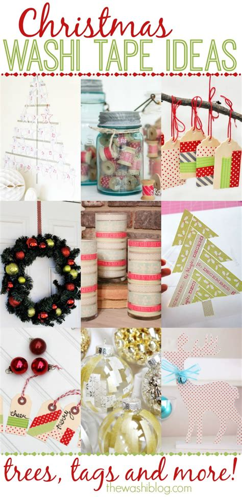 washi tape christmas craft washi ideas the washi bloglovin