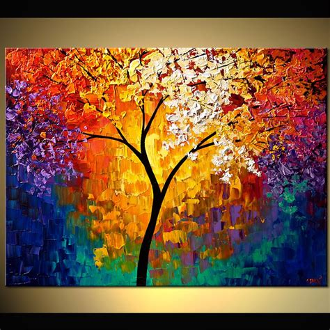 modern painting ideas abstract tree paintings abstract art work of trees http