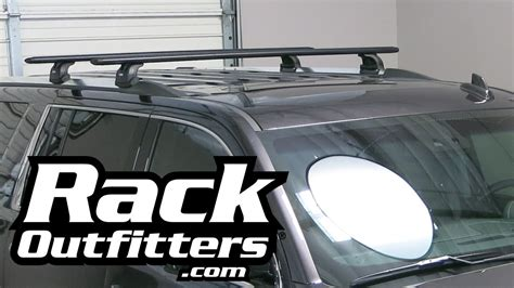 gmc yukon roof rack gmc yukon denali xl thule rapid podium black aeroblade roof rack 15 by rack outfitters youtube