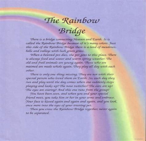 rainbow bridge rainbow bridge poem as artwork go search for tips tricks cheats search