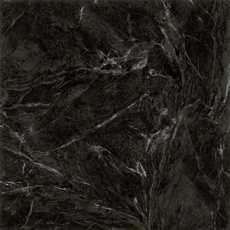 TrafficMaster Black Marble 12 in. x 12 in. Peel and Stick