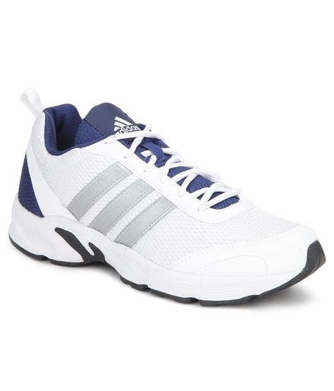buy adidas albis 1 white running sports shoes snapdeal