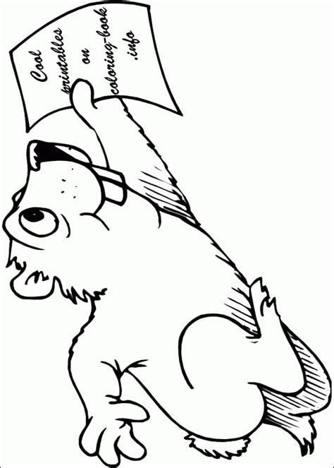 Groundhog Day Coloring Pages Coloringpagesabc Com Groundhog Day Coloring Pages