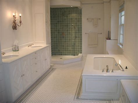 Traditional Bathroom Tile Ideas Classic Tile Designs Traditional Bathroom Dc Metro By Vallefuoco Contractors Llc