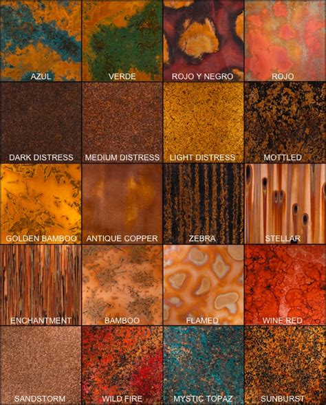 color of copper color copper sle pack all 20 sles
